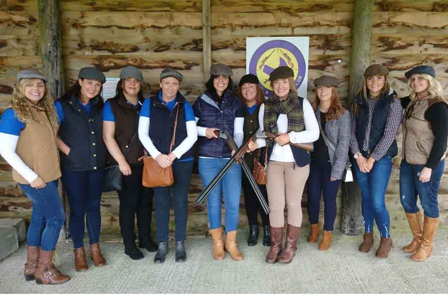 Clay Shooting Hen Party Idea