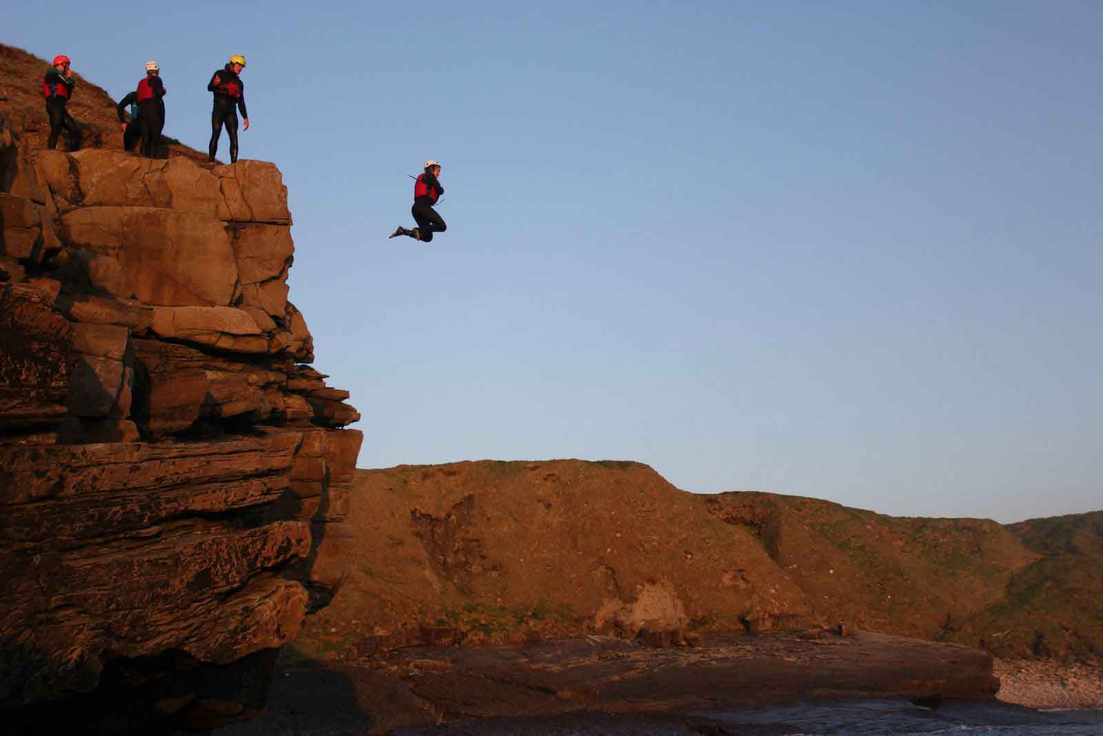 Coasteering Hen Party Idea