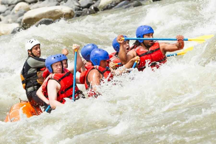 White Water Rafting Stag Party Idea