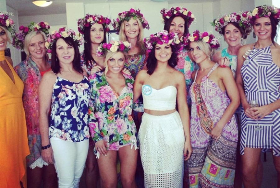Flower Crown Hen Party Idea