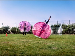 Bubble Football, hen party idea