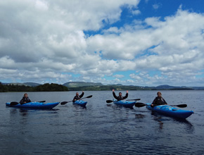 Kayaking Sligo