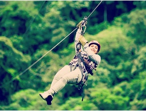 Zip-lining, Hen Stag Party in Sligo