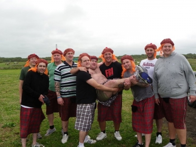 Highland Games Stag Party